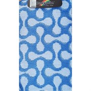 Коврик в ванную Санакс 00266 CLASSIK MULTI, 55х90см, одинарный, полиэстер, синий