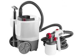 Краскораспылитель/краскопульт Зубр КПЭ-750, электрический, 800мл/мин, вязкость краски 100 DIN, 0.8л, 750Вт