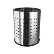 Ведро для мусора Санакс 405, 5л, круглое, перфорированная нержавеющая сталь, без крышки