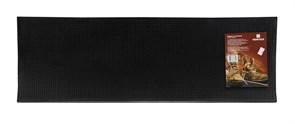 Коврик на ступеньку VORTEX 20078, 25x75см, черный, резина