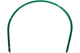 Дуги парниковые Комплект-Агро, длина 2.5м, высота 0.95м, металл в ПВХ, набор 6шт