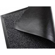 Коврик напольный Floor mat (Profi), 40x60см, влаговпитывающий, темно-серый