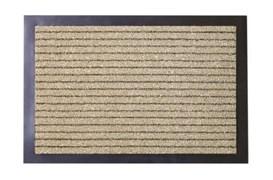 Коврик напольный Floor mat (Полоска), 40x60см, влаговпитывающий, темно-бежевый