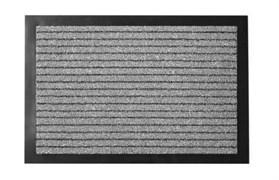Коврик напольный Floor mat (Полоска), 50x80см, влаговпитывающий, серый