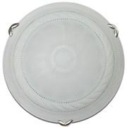 Светильник настенный/бра Дюна Орхидея 2225, диаметр 250мм, 1х60W, E27, белый/хром