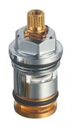 Кран-букса (вентильная головка) для дивертора Do.Korona DK-338 переключение ванна-душ, 1/2дюйма, 20 шлицов
