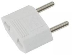 Сетевой переходник REXANT 11-1041 TEFAL, 10А, IP20, плоский, белый