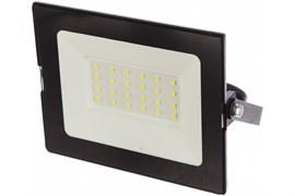 Прожектор светодиодный ЭРА Eco LPR-021-0-65K-030, 30Вт, СДО, 2400Лм, 6500К, черный