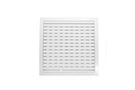 Решетка вентиляционная EVENT МД4040Р, регулируемая, 400х400мм, пластиковая, белая