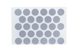 Заглушка самоклейка Tech-Krep 14мм, алюминий, упаковка 50шт