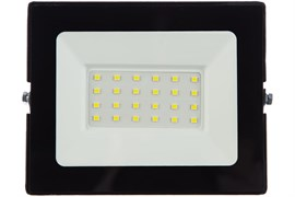 Прожектор светодиодный LFL-3001, 30Вт, 6500К, С02, черный