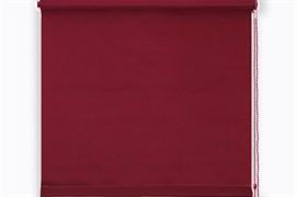 Штора рулонная/ролет MJ-012, 75x160см, ПВХ, бордовый