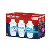 Картридж Аквафор В100-5 защита от бактерий (комплект из 3-х штук)