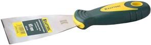 Шпат.лопатка KRAFTOOL с двухкомп.руч.нерж. 125 мм.