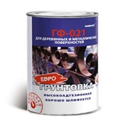 Грунт ГФ-021 FARBITEX красно-коричневый 2.7 кг