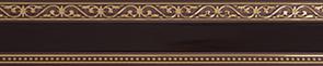 Карниз МОНАРХ 3-х рядный 3м венге