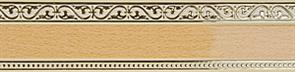 Карниз МОНАРХ 3-х рядный 3м ясный дуб