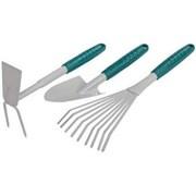 Набор RAСO садовый 3 предмета: совок ,грабли, мотыжка